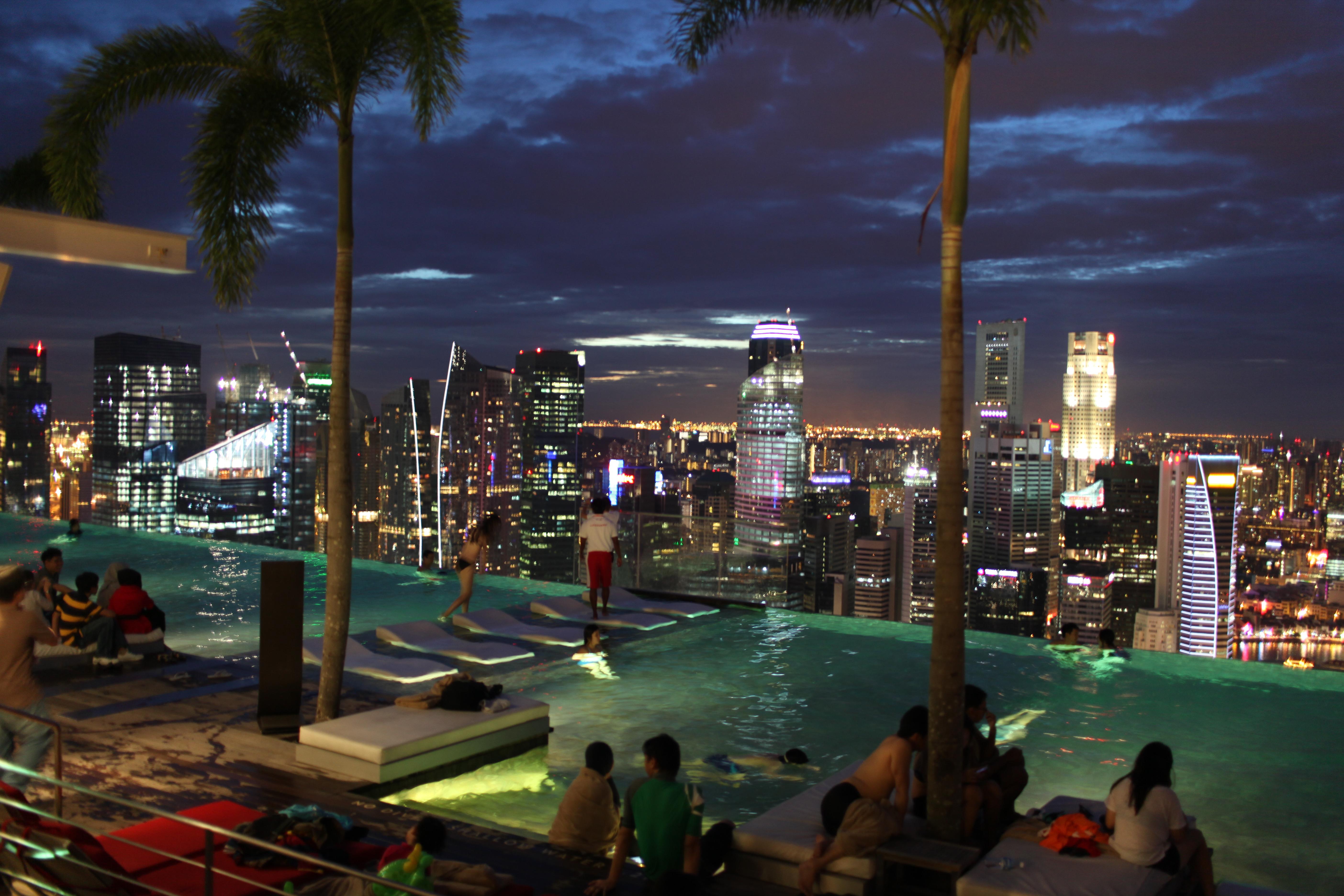 Marina Bay Sands Fish Spa